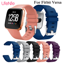 Frontier classic Replacement Sport Wristband accessories strap for Fitbit Versa smart watch bracelet Wrist Watchband S L Size