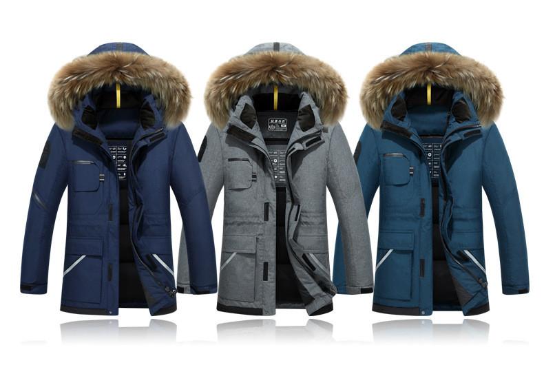 4d14578c89 2019 New Winter Jacket Men S Camouflage Pattern Long Ski Jacket ...
