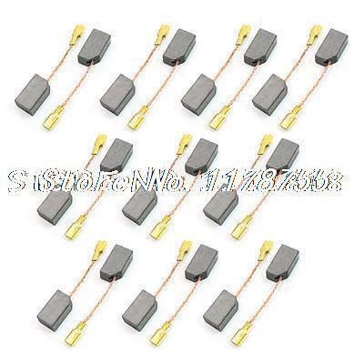 20 Pcs 13.5mm X 7mm X 5mm Motor Carbon Brush For Dewalt 100 Angle Grinder
