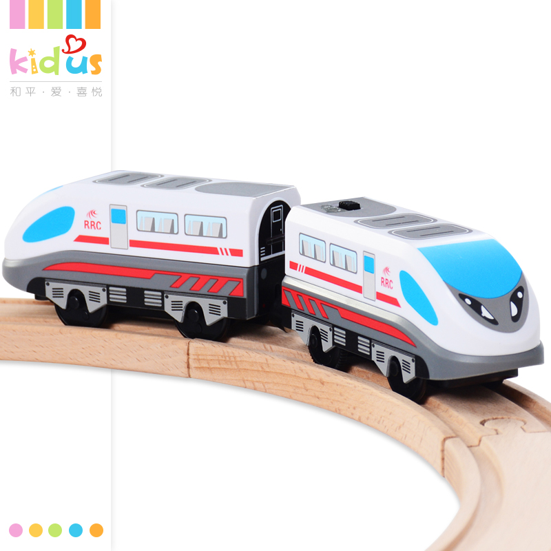 Zalami Electric Railroad Train Set Education Toy Railway Truck Train toys Suit For Thomas And Friends