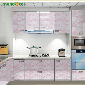 Image 3 - 3M/5M/10M Modern Waterproof Vinyl Self adhesive Wallpaper Marble Contact Paper Kitchen Cupboard Shelf Drawer Liner Wall Stickers