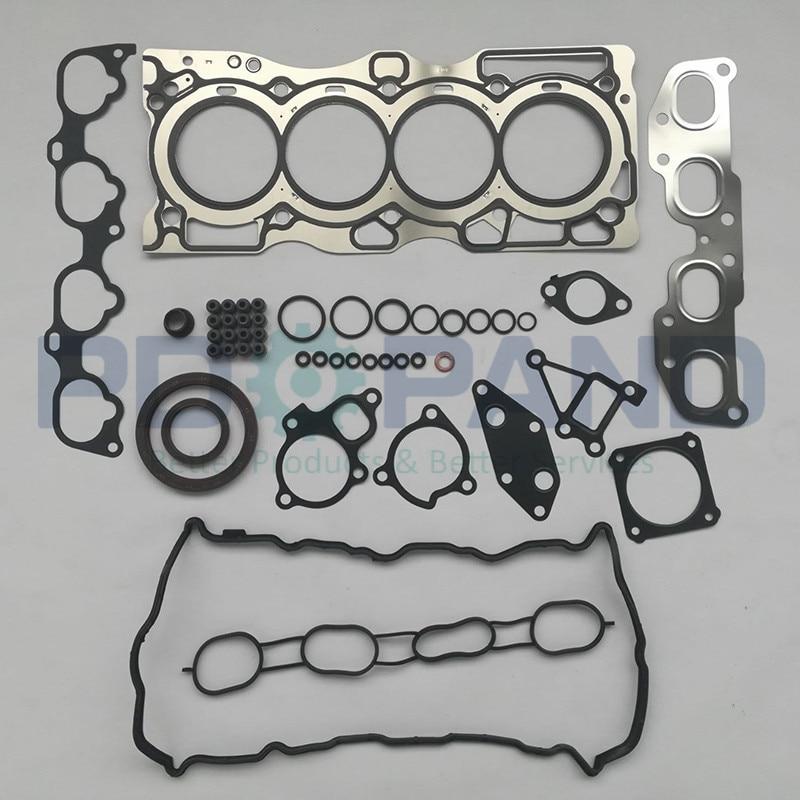 Auto Replacement Parts Wide Varieties Qr25 Qr25de Engine Full Rebuild Gasket Set/kit For Nissan X-trail T30/sentra B15 B16/altima Coupe Hybrid 2.5 2488cc 2001
