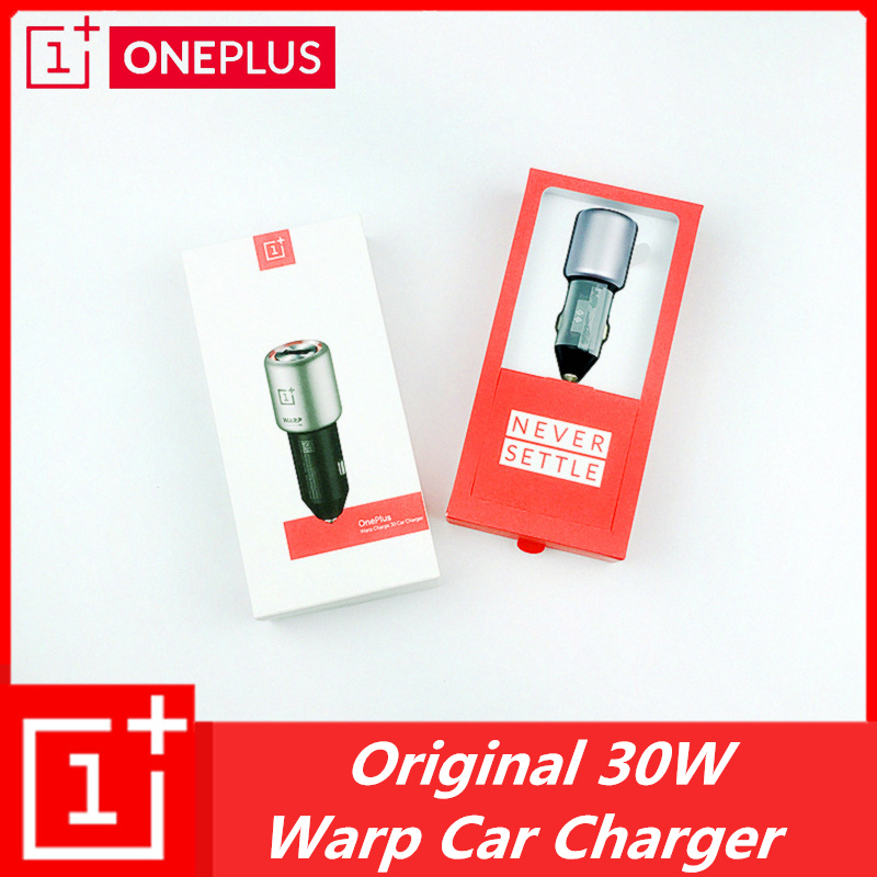 Original alleen font b OnePlus b font Warp Lading 30W 5V 6A Max Autolader For font