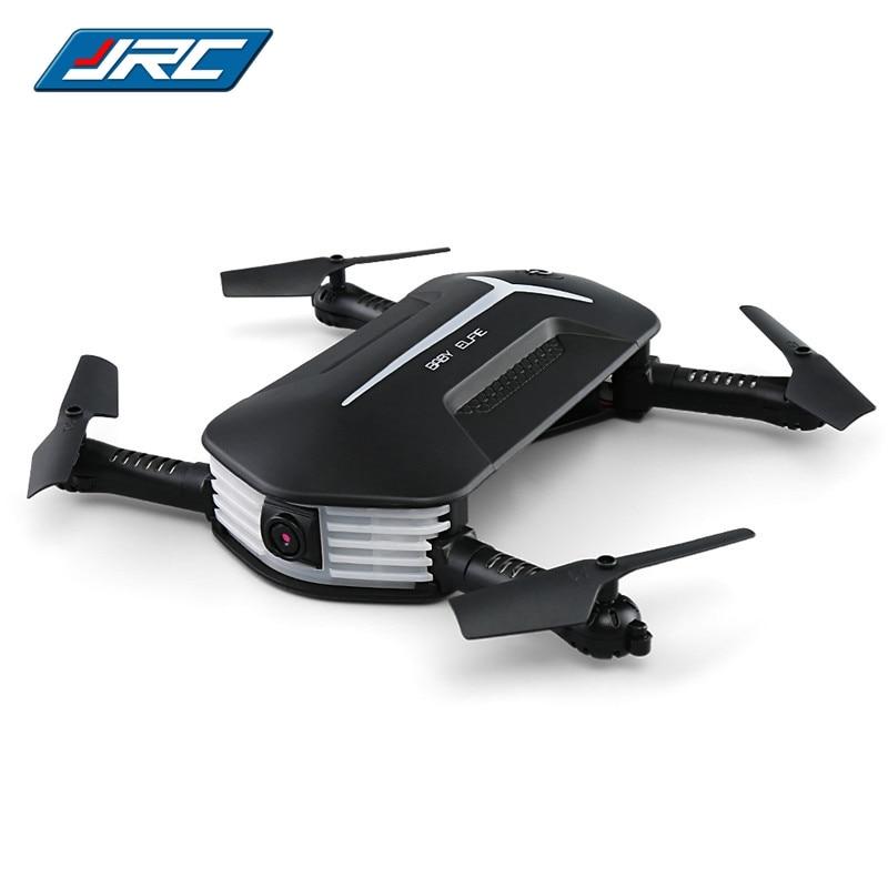 Originale JJRC H37 Mini Bambino Elfie 720 P Pieghevole Braccio WIFI FPV Mantenimento di Quota RC Quadcopter RTF Selfie Drone VS Eachine E52