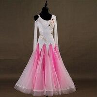 New Design Luxury Diamond Women Modern Ballroom Dance Dress For Ballroom Dancing Waltz Tango Flamenco Dance Performance Dresses