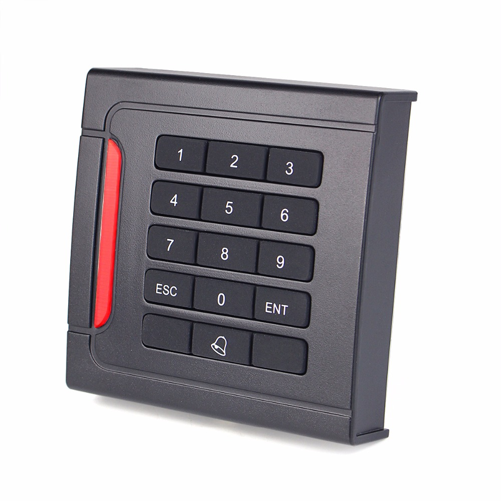 WG26/34 EM-ID 125kHz Door Access Control System for RFID Card Reader Keypad Waterproof F1710A card reader waterproof access control system for rfid wg26 34 interface economic for home f1684a