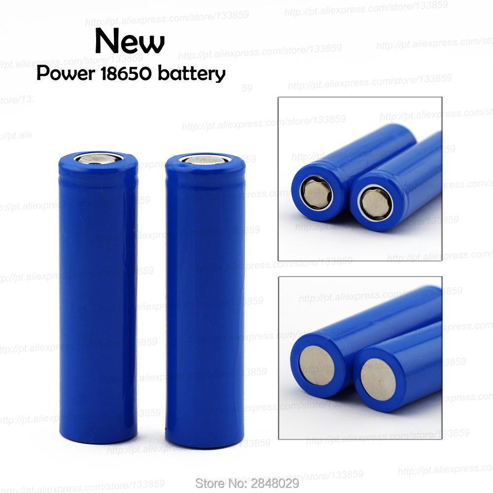 <font><b>4</b></font> <font><b>PCS</b></font> free shipping <font><b>18650</b></font> 1300 mah lithium <font><b>battery</b></font> 3.7 V strong light flashlight rechargeable <font><b>battery</b></font> protection board image