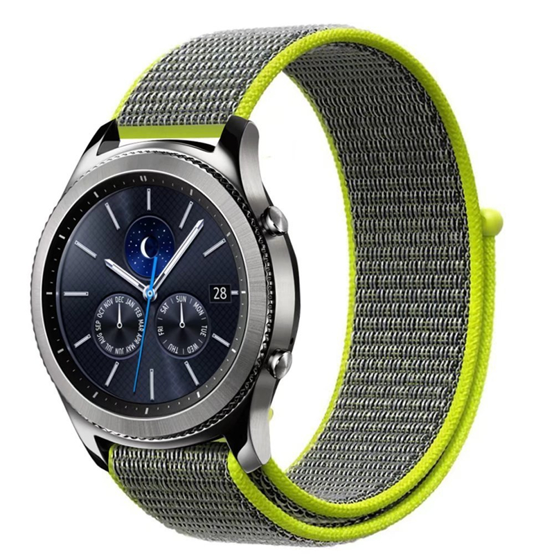 Milanese Loop Nylon Watchband Strap 22mm 20mm for Samsung Gear sport/Gear S2 Classic /Gear S3 /huami amazfit bip /Moto 360 2nd