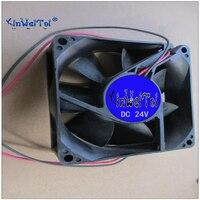 Free shipping fan FOR NIDEC NETA SL Model D08T 20BS1 01 20V DC 0.07A 8025 8CM 80x80x25mm cooling fan