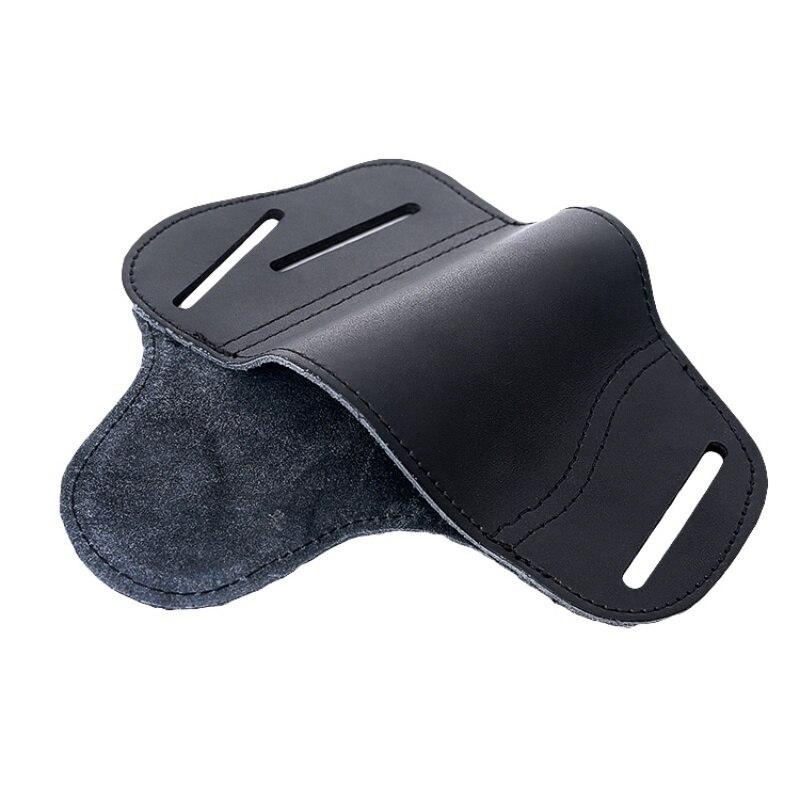 Nuevas de cuero oculto llevar funda de pistola para Glock 17 19 22 23 43 Sig Sauer P226 P229 Ruger Beretta 92 M92 s & w pistolas Clip caso