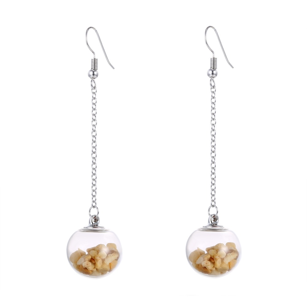 dangling earring stone riah earrings products natural fashion