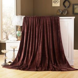 Image 2 - CAMMITEVER Home Textile Sofa Bedding Fleece Blanket Summer Solid Color Blankets Super Soft Warm Flannel Throw On Sofa/Bed/Travel