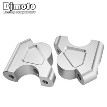 BJMOTO CNC Motorcycle 32MM 1 1/4 Drag Handle Bar Clamps Handlebar Riser For BMW R1200GS R1200 GS R 1200 LC/Adventure