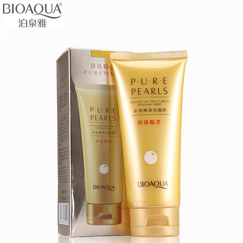BIOAQUA Brand Facial Cleanser Extract Facial Cleansing Rich Foaming Face Cleanser Whitening