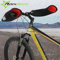 ROCKBROS Windproof Outdoor Sports Mountain Road Bike Gloves Covers For Men Women In Winter Feel Warm
