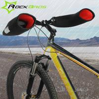 ROCKBROS Windproof Outdoor Sports Mountain Road Bike Gloves Covers For Men Women In Winter Feel Warm