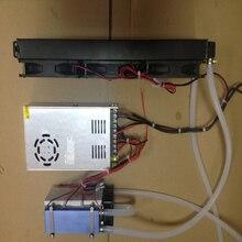 ชิปเซมิคอนดักเตอร์ 12V แบบพกพา Cooling Air Conditioner ขนาดเล็ก DIY เครื่องทำความเย็น Air Conditioner