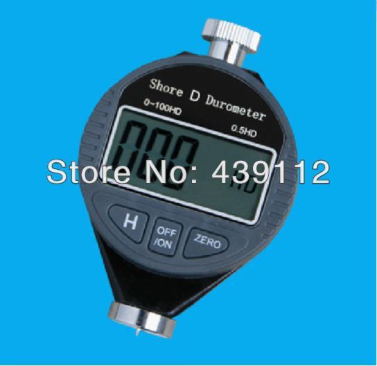 ФОТО Durometer Digital Hardness Tester Meter 100HD Option For Shore type D hardness