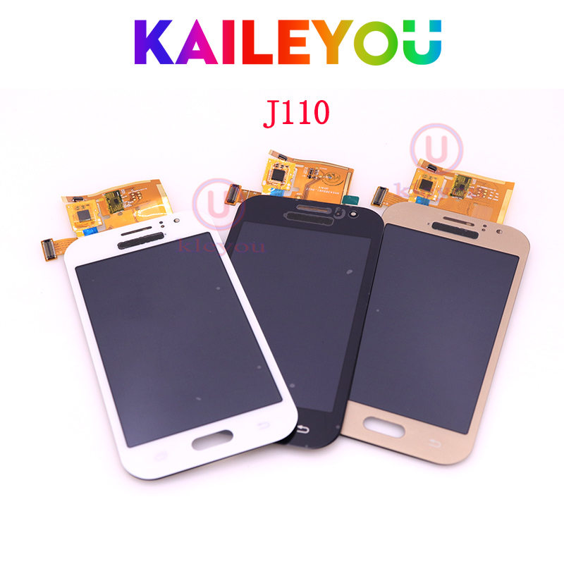 TFT 4.3 For Samsung Galaxy J1 Ace J110 J110A J110M J110F LCD Display Touch Screen Digitizer Full Assembly Free Shipping