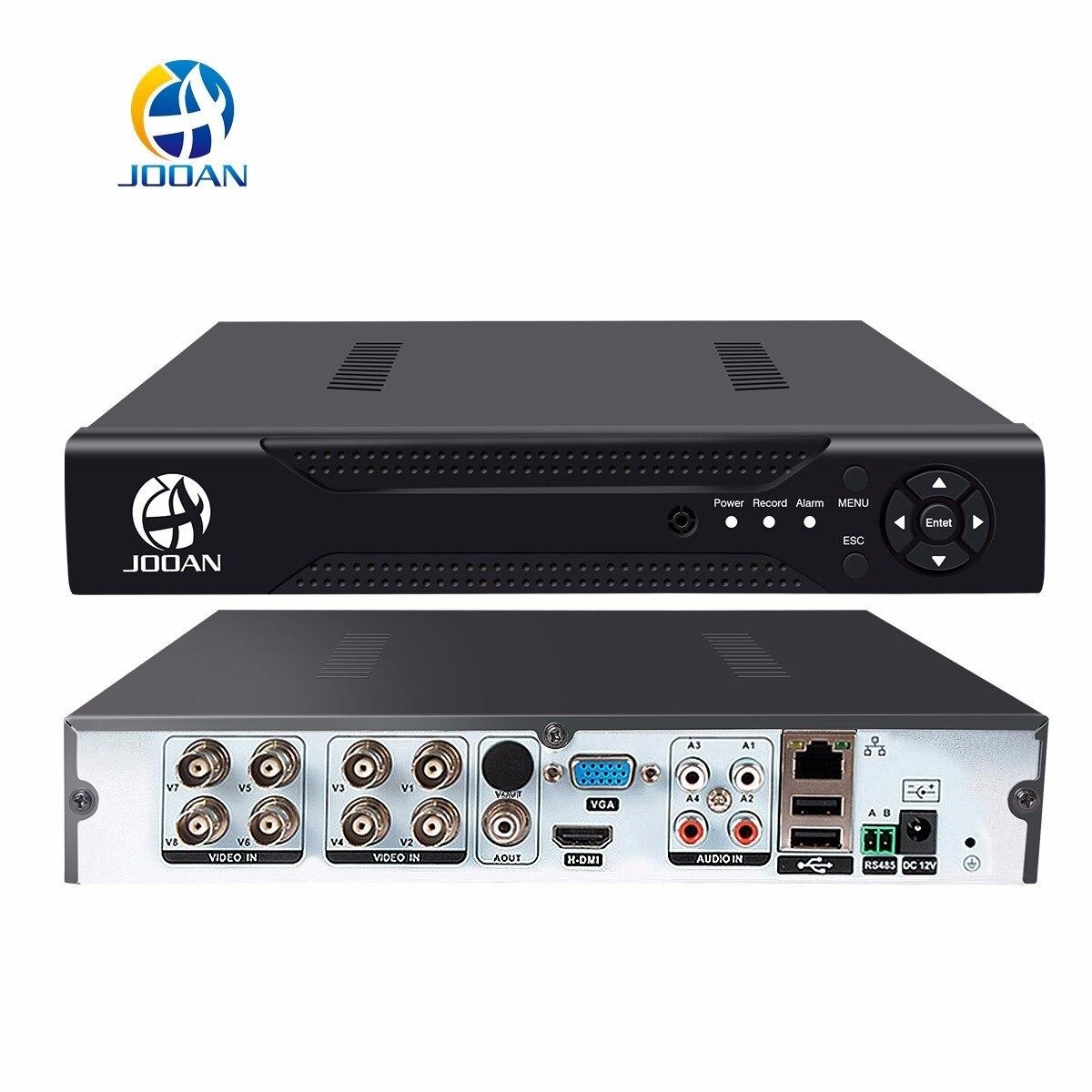 JOOAN 8CH 1080N CCTV AHD DVR QR код сканирования быстрый доступ, смартфон, ПК Легкий Удаленный доступ h.264 цифровой видео регистраторы