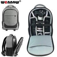 wennew DSLR Camera Bag Backpack Case for Canon EOS 5D Mark IV III II Rebel SL2 SL1 T7 T7i T6i T6s T6 T5i T5 T4i 800D 80D 7D 6D