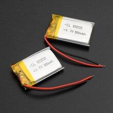300 мАч 602030 3,7 в литий-полимерный аккумулятор, Bluetooth MP3 MP4 Смарт часы беспроводная карта аудио рекордер перезаряжаемый литий-ионный аккумулятор
