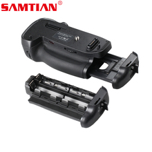 SAMTIAN Battery Grip Holder Work with EN-EL15 Battery or 6x AA Batteries for NIKON D750 DSLR Digicam with IR distant controller