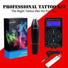 hot deal buy professional tattoo kits rotary pen tattoo machines guns sets power supply for tattoo artist