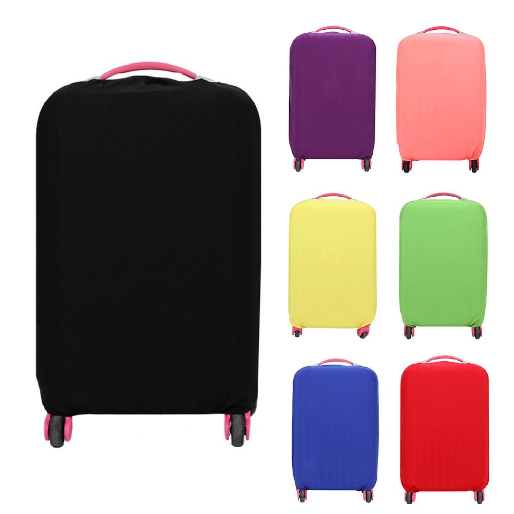 Colorful Travel Luggage Cover Protective Suitcase Cover Trolley Case Accessories Travel Luggage Dust Cover For 18 To 28 Inch Bag