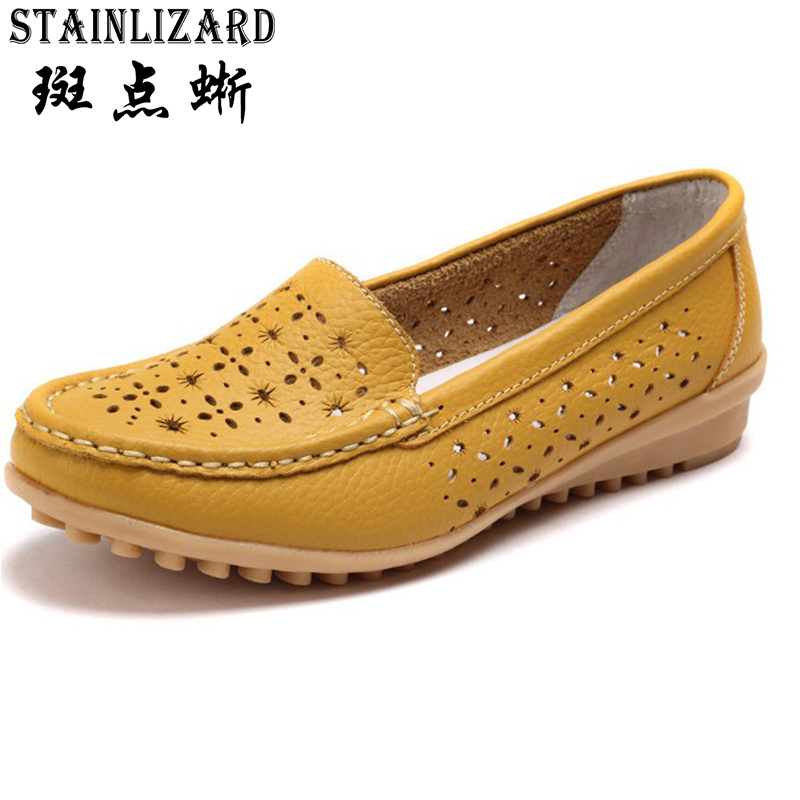 Loafers Women flats Moccasins Mother Plus size Soft Leisure Flats Solid color Slip on PU Leather Women Shoes 5-DT918 schwarzkopf лак для волос сильной фиксации schwarzkopf osis freeze 1918571 500 мл
