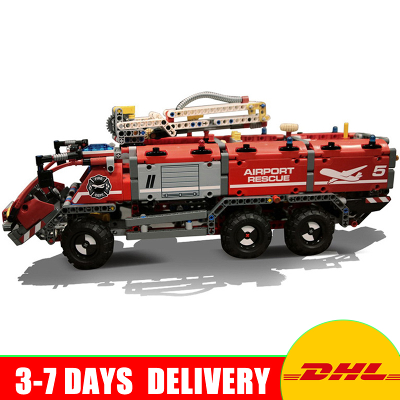 In Stock Lepin 20055 Genuine Technic Mechanical Series The Rescue Vehicle Set Educational Building Blocks Bricks Toys 42068 the rescue