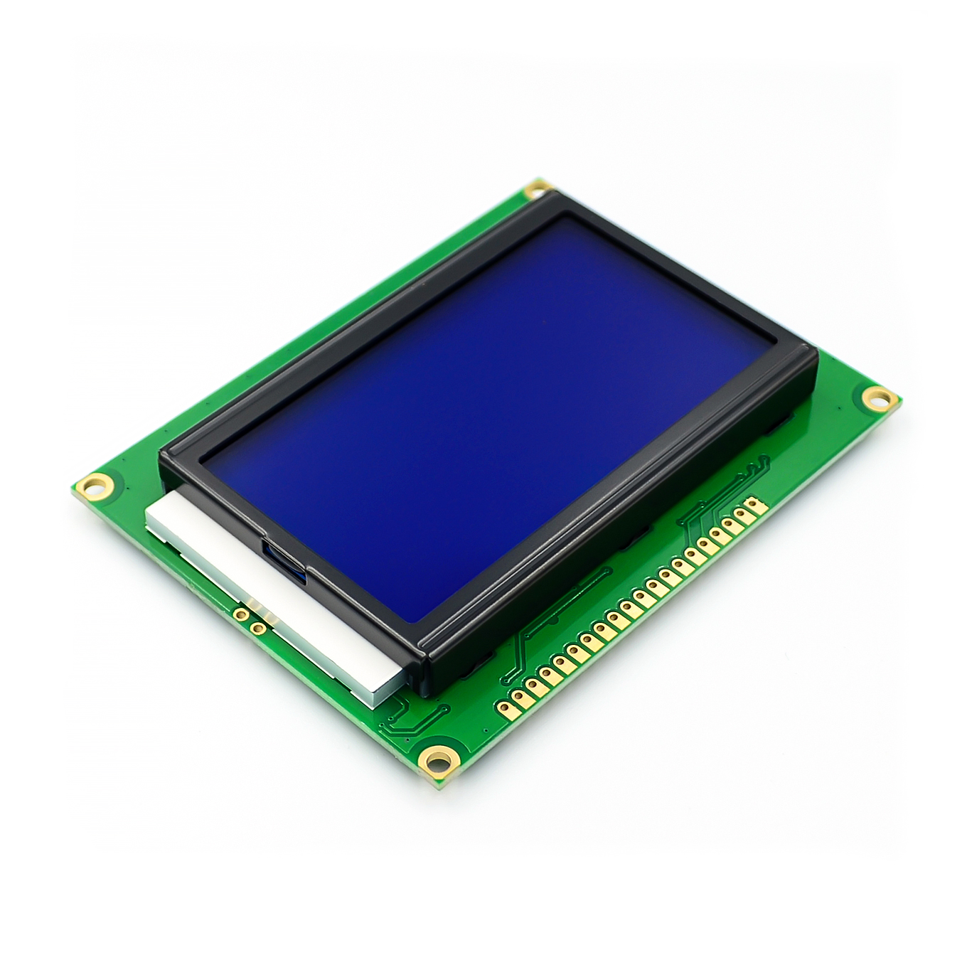 5PCS/LOT LCD Board Yellow Green Screen 12864 128X64 5V blue screen display ST7920 LCD module for arduino 100% new original5PCS/LOT LCD Board Yellow Green Screen 12864 128X64 5V blue screen display ST7920 LCD module for arduino 100% new original