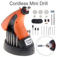 Multi Function 3 6V Rechargeable Cordless Mini Drill 12000RPM Electric Grinder Kit With EU Adapter For