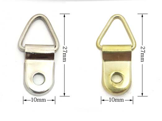 1 Hole Type Samll Picture Hangers Frame Hardware Steel
