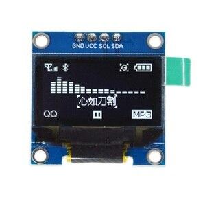 0,96 дюймовый IIC Серийный белый oled-дисплей модуль 128X64 I2C SSD1306 12864 плата с ЖК-экраном GND VCC SCL SDA 0,96