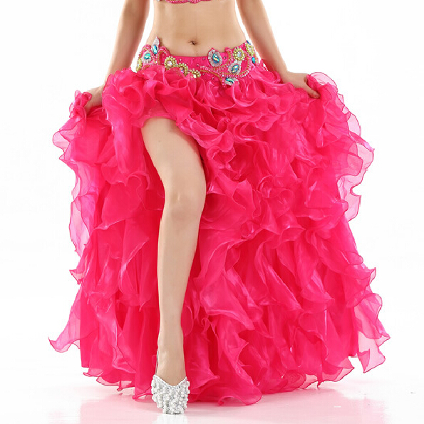 Image 5 - HOT SALE! senior yarn belly dance costumes sexy women belly dance stage skirt for ladies belly dance skirts-in Belly Dancing from Novelty & Special Use
