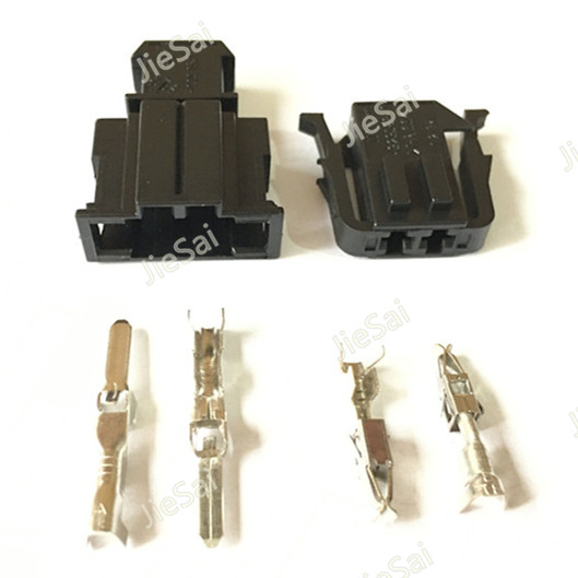female male automotive connector 2 pin abs sensor wire. Black Bedroom Furniture Sets. Home Design Ideas
