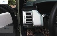 Yimaautoпланки авто аксессуар сторона двери + центральный кондиционер выходное отверстие крышка отделка 22 шт. подходит для Range Rover Sport 2014 2015 ABS