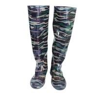 Summer Autumn Rain Boot for Men Camouflage Rain Boot Men Boys Outside Walking Rainboots Over Knee High Male Rainboots