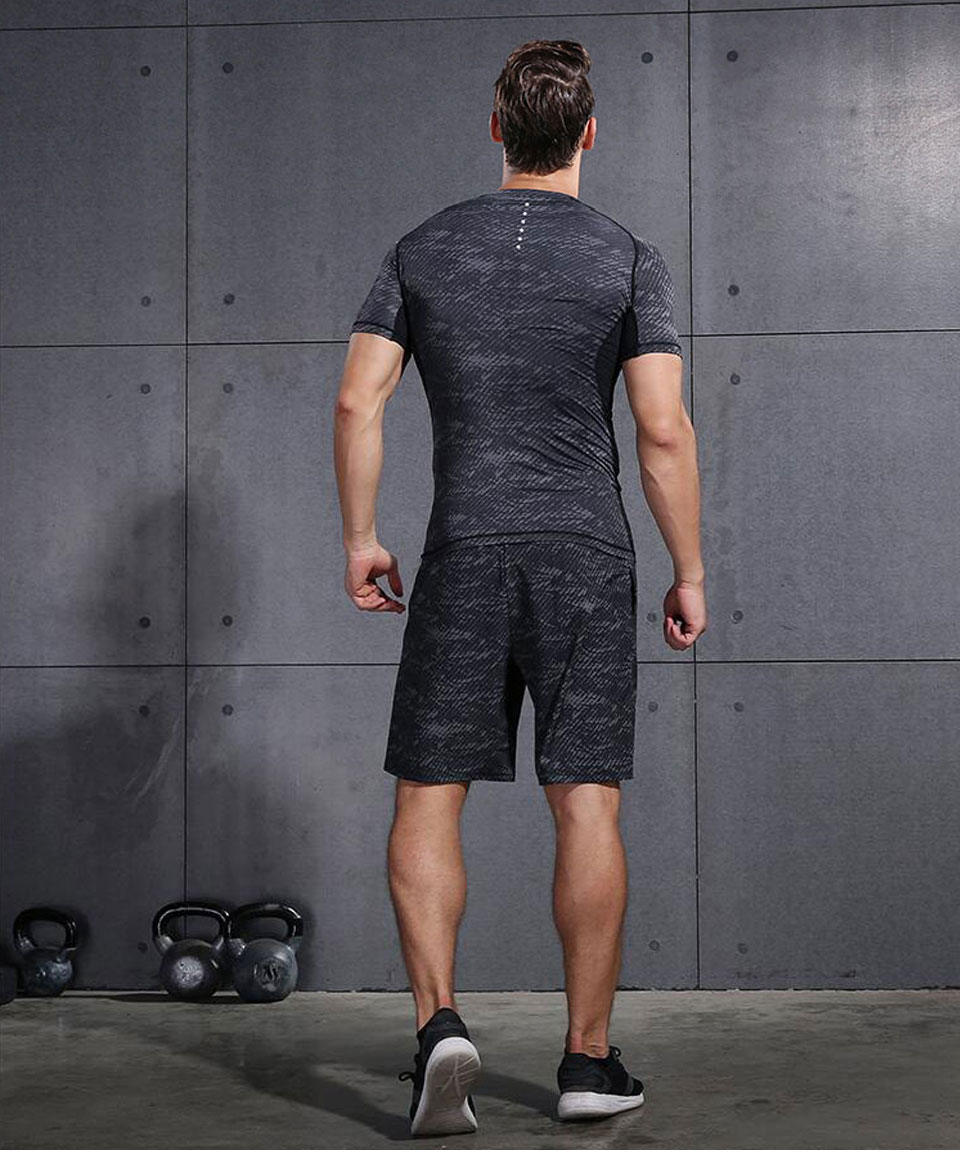 VANSYDICAL Running Shorts Men Sport Mens Marathon Gym Shorts Quick Dry Training Soccer Tennis Workout GYM Shorts Tenis Masculino 20