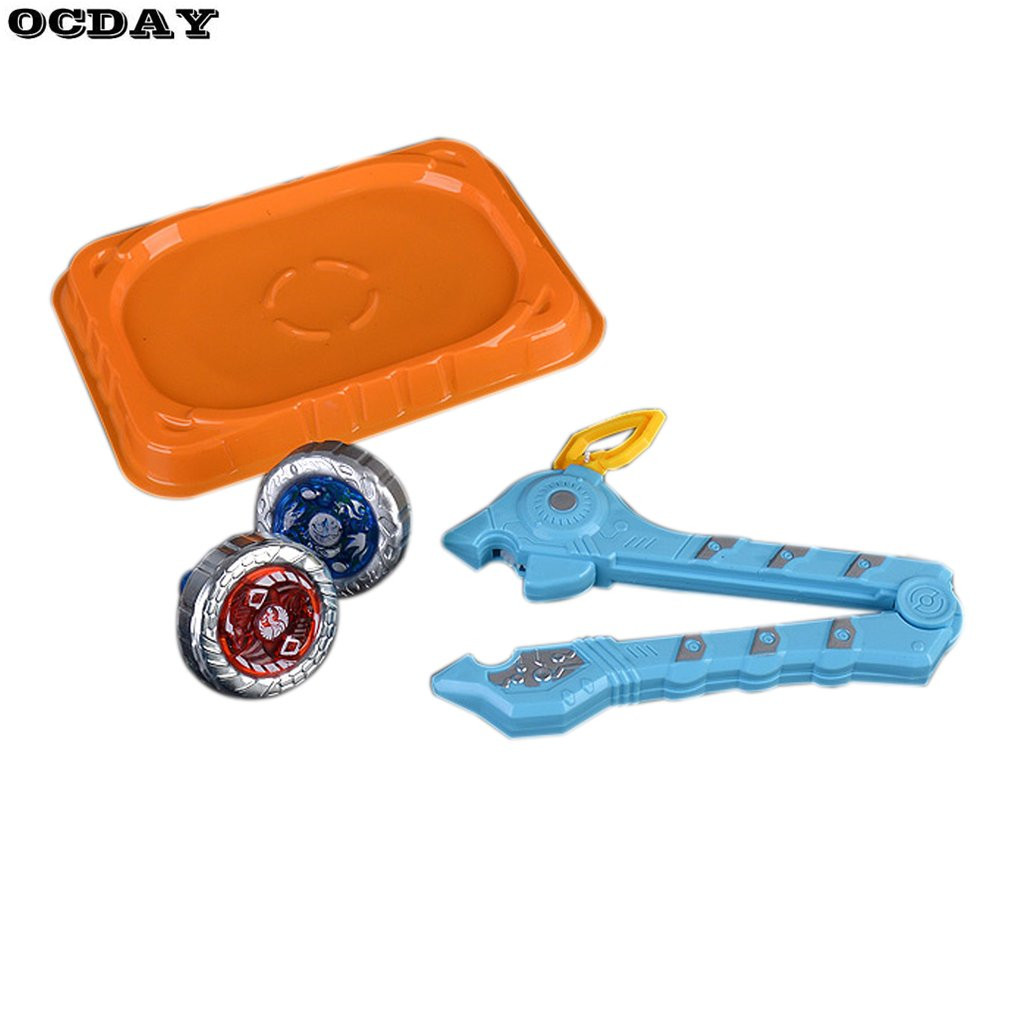 Beyblade Metal Fusion 4D Launcher Spinning Top Set Funny Design Classic Storm Pegasus Toys For Christmas Children's Day Gift Hot