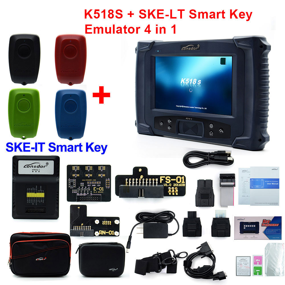 Image 4 - Original LONSDOR K518S Key Programmer Basic Version with  Update-in Auto Key Programmers from Automobiles & Motorcycles on