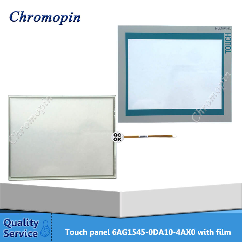 все цены на 6AG1545-0DA10-4AX0 Touch Panel 6AV6 545-0DA10-0AX0 Touch Screen Glass with Protective Film for MP370 12'' Touch онлайн