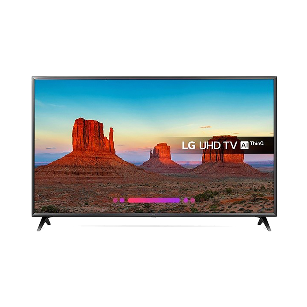LG 55IN LED UHD 4 K 55UK6300PLB TV SMART TV WIFI 3 1XHDMI 2 1XUSB 20 W DANS LED Télévision