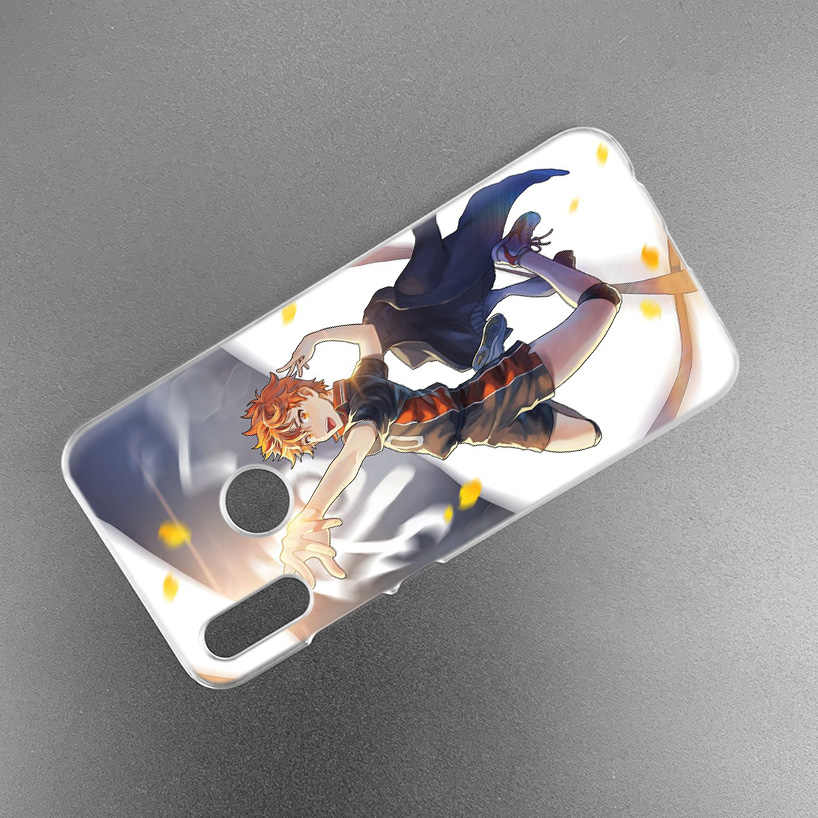 Haikyuu Anime Case untuk Xiao Mi Merah Mi Go Catatan 7 6 6A Pro S2 5 5A 4X Mi A1 a2 9 Mi X 3 5G 8 Lite Bermain F1 Hard Pc Fundas Phone Cover