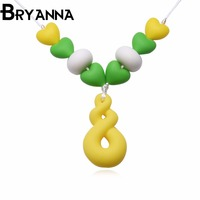 BRYANNA H824 Fashion Jewelry Wholesale Classic Silicone Women Necklaces For Women Gargantilha Bohemia Silicone Necklace