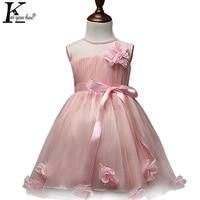 Children Clothing Chiffon Girls Dress Princess Wedding Dresses For Girls Vestidos For 2 3 4 5