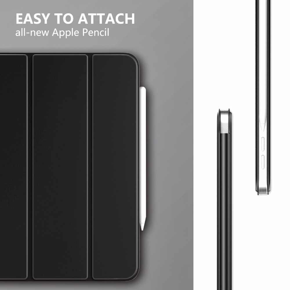 online store 6d7f4 91227 MoKo Case for iPad Pro 11 2018 [Support Magnetically Attach Charge/Pair]  Slim Lightweight Smart Shell Stand Cover with Auto Wake