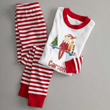 Red and White Christmas Pajamas Family Matching Clothes set