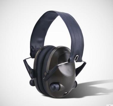 Anti-noise IPSC Impact Sport Hunting Electronic Tactical Earmuff Shooting Ear Protectors Hearing Protection Earmuffs auricular para solo un oido png